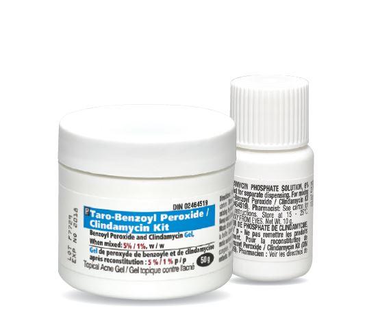Benzoyl peroxide/clindamycin